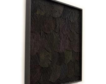 Leaf Wall Panel | Black