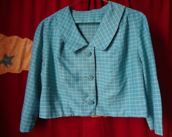 Mid-Century Jacket 40's Pale Blue