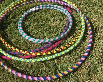 Mad About Hoops - Collapsable 3 Color Hula Hoop  -  A Perfect Hula Hoop for the Mad About Hoops program!