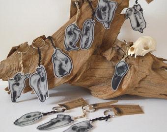 Animal Skull Keychains
