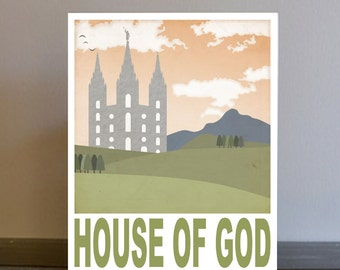 Temple Fairytale Poster