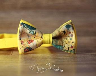 "Klimt ""The Kiss"" Bow tie - Bowtie"
