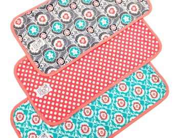 3PK Burp Cloth Set