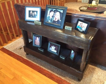 Pallet sofa table hand made