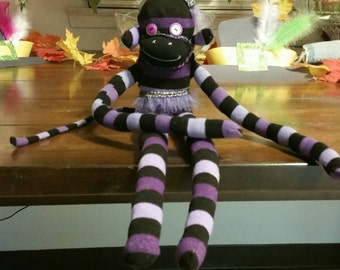 Sock monkey made to order