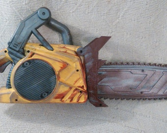 DOOM hand painted toy chainsaw