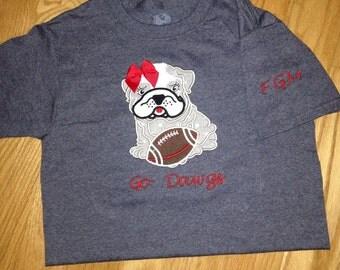 GA bulldog kids shirt