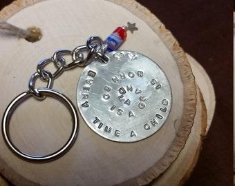 A keychain for grandma