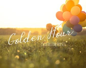 Golden Hour Lightroom Preset, Lightroom Preset, Presets For Lightroom, Sunlight Preset, Sun Preset // SINGLE PRESET