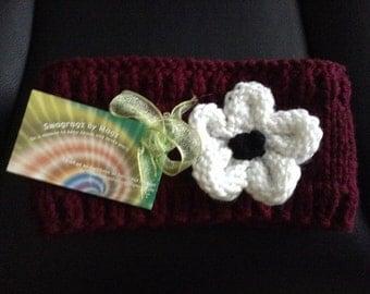 Daisy Knitted Headband