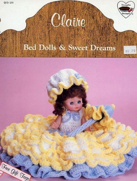 Claire fibre craft dumplin designs bed dolls by for Fibre craft 18 inch doll
