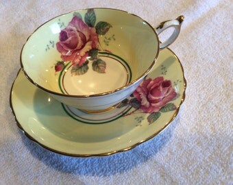 Paragon By Appointment Fine Bone China England Regd cup and saucer