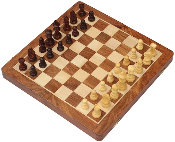 Chess Set Sale 12 Classic Wooden Travel Chess Set By Bkraft4u