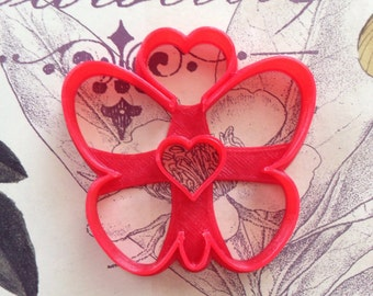 Butterfly with Hearts Cookie Cutter-Razor Edge