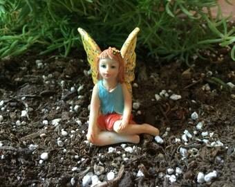 Miniature Fairy, Fairy Figure, Fairy Garden, Miniatures, Terrarium Garden, Flower Pot Garden, Faerie, Gardening
