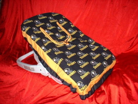 Pittsburgh Steelers Infant Car Seat Carrier Cover Also In Pink
