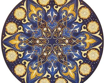 Arabian Nights Mandala