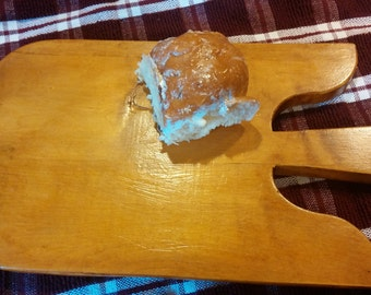 Vintage French Style Angel Wing Bread Board Paddle Maple Wood Cheese Board Serving Tray Kitchen Serving