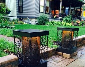 Yard light lanterns