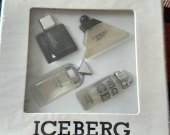 Set of four Iceberg mini perfumes
