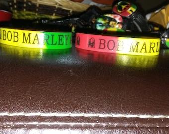 Bob Marley silicone wristband