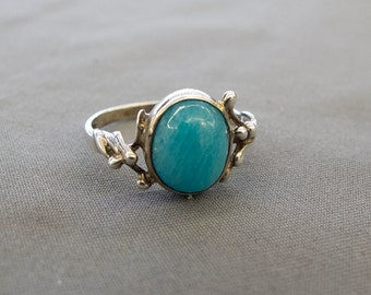 Vintage Amazonite ring