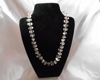 Necklace, beaded necklace, handmade necklace, Crystal necklace, quartz gemstone necklace