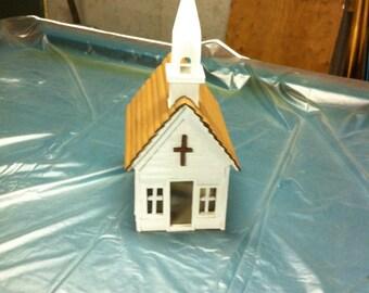Little White Church piggy bank
