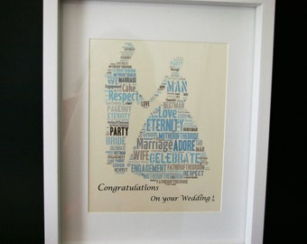Personalized Wedding Pictures/Keepsakes/Thank you gift