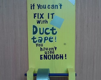 Duct tape holder