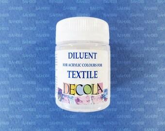 "DILUENT TEXTILE Acrylic Colours ""Decola"" 50ml Russian Nevskaya Palitra"