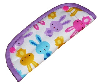 """Neck Protector / guard-shoulder / belt protects / protects strap """"BUNNIES"""""""