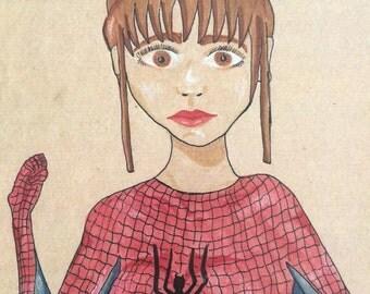 Spidergirl Illustration