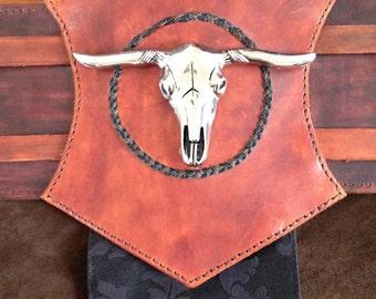 Leather Fantasy Warrior Kidney Belt