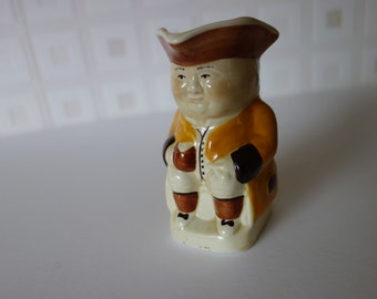 Little hand painted toby jug by Tony Wood
