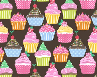 Lolly - BTY - Blend Fabs - by Maude Asbury - Cupcakes!