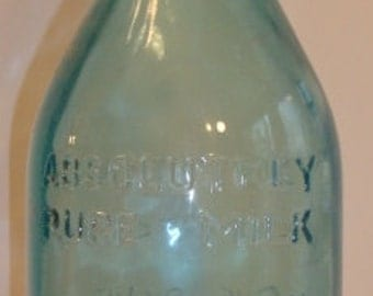 Thatchers Dairy Absolutely Pure Milk One Quart Bottle