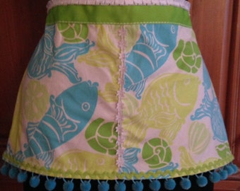 Child's Apron made from Lilly Pulitzer Fabric