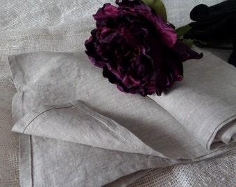 LINEN FLAT SHEET seamless Prewashed linen bedding Custom size White Gray sheet Queen King Twin Single Double Natural Organic 100% Flax gift