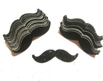 Mustache confetti