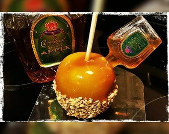 Drunken Caramel Apple (Infused with the liquor of your choice)