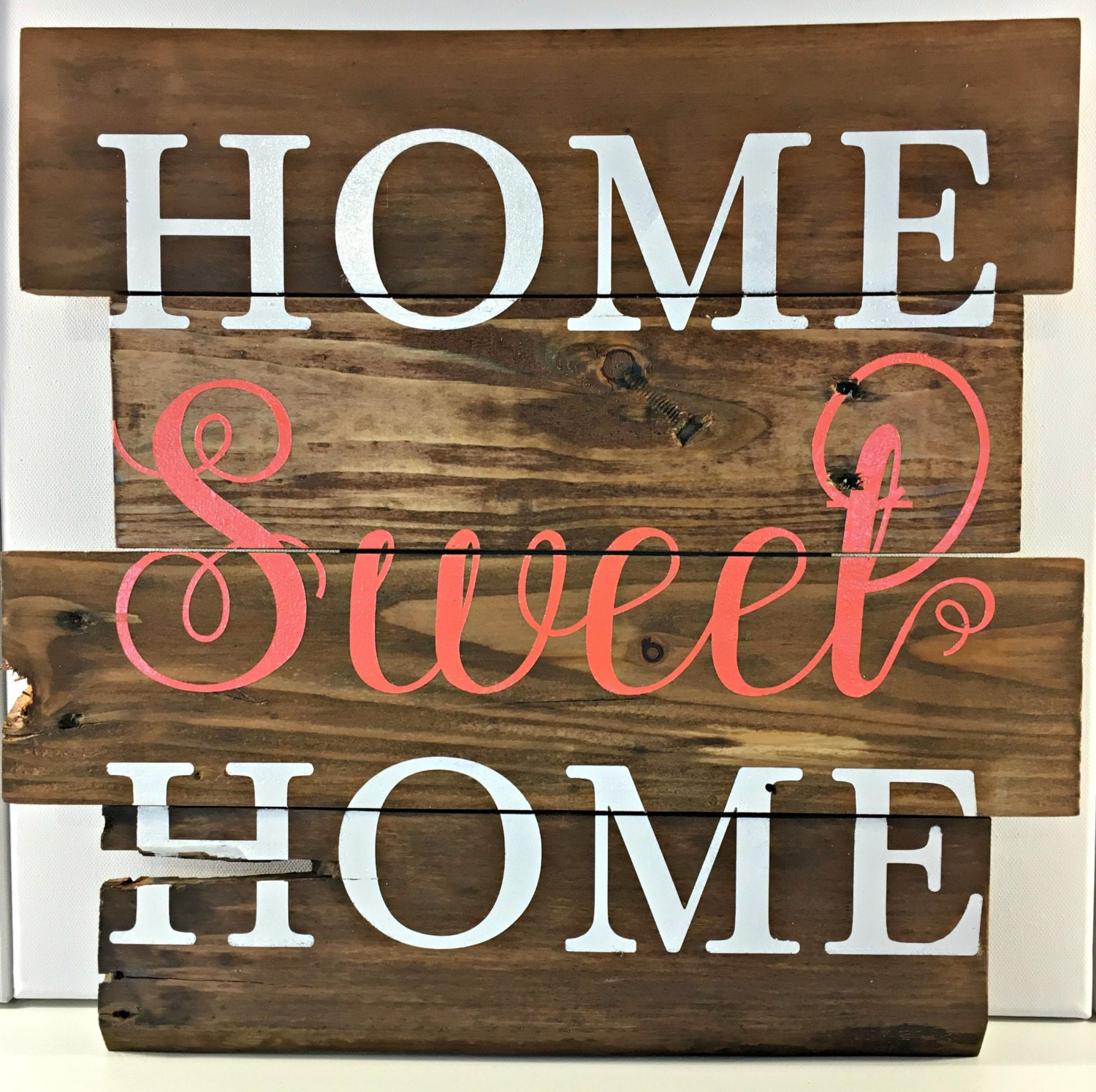 Home Sweet Home Sign Rustic Home Decor Housewarming Gift