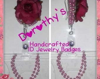 Dorothy's Handcrafted ID Jewelry Badges