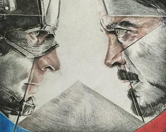 Captain America: Civil War ORIGINAL fanart