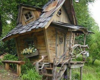 Woodland playhouse