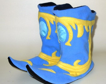 Plush slippers for home of game Dota Arcane boots
