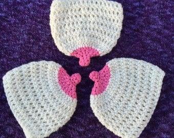 Crochet Boobie Beanies 0-6months