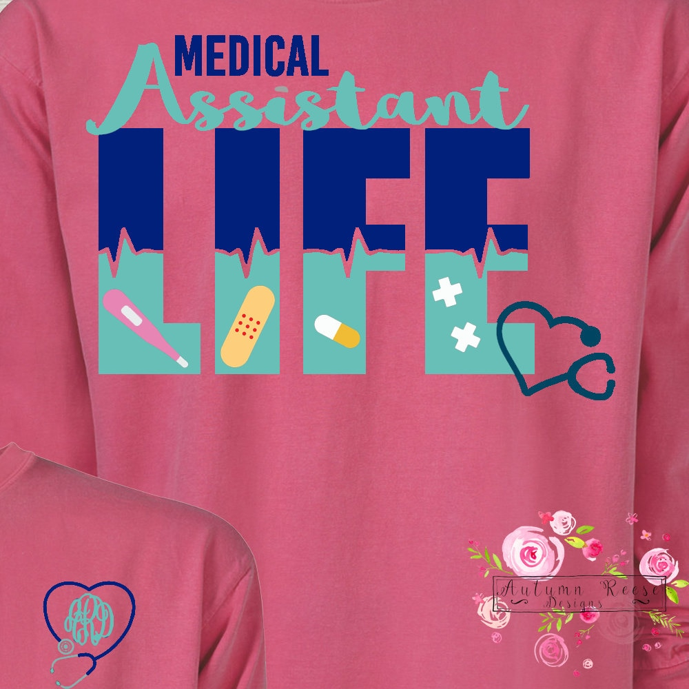 Monogrammed medical assistant life medical technician life cna monogrammed medical assistant life medical technician life cna certified nursing assistant life xflitez Choice Image