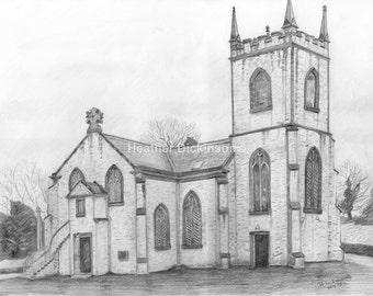 Art Print/Canvas - 15. Kirkcowan Parish Church