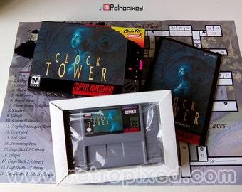 Clock Tower - NTSC - (CIB SNES Reproduction) Limited Edition!